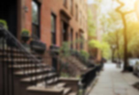 New York sidewalk