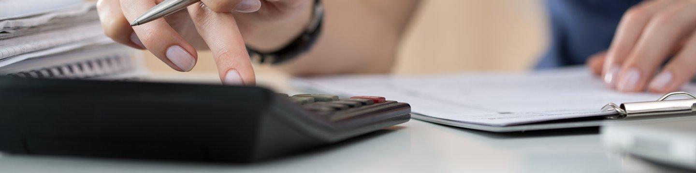 Person entering calculations