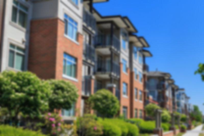 A condominium building