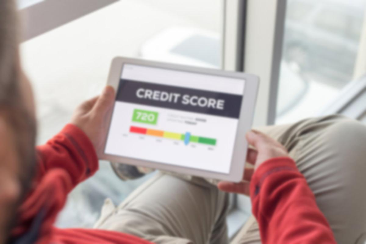 credit score tablet