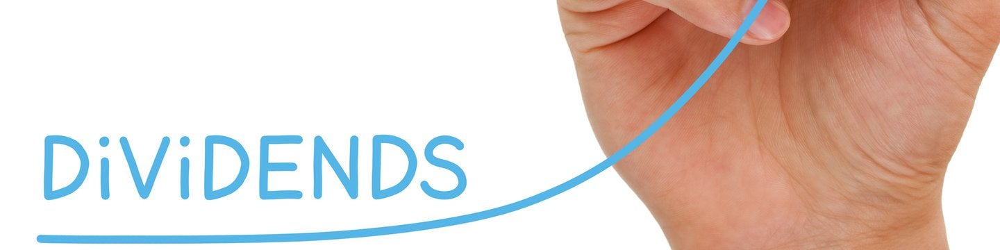 dividends logo with hand