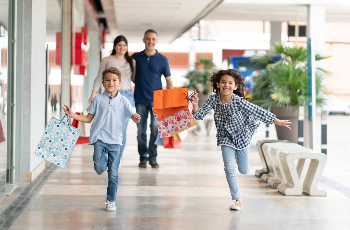 Image result for family shopping""