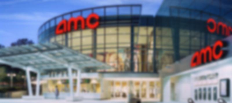 AMC theater during the evening