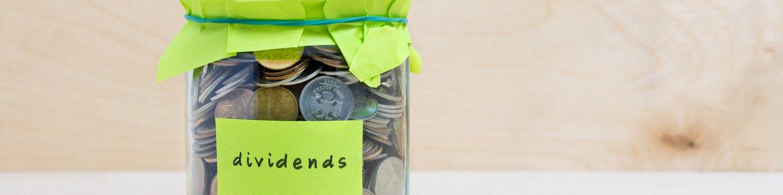 coin jar towards dividends