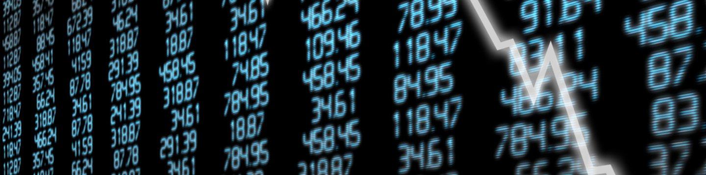 stock market drop in numbers