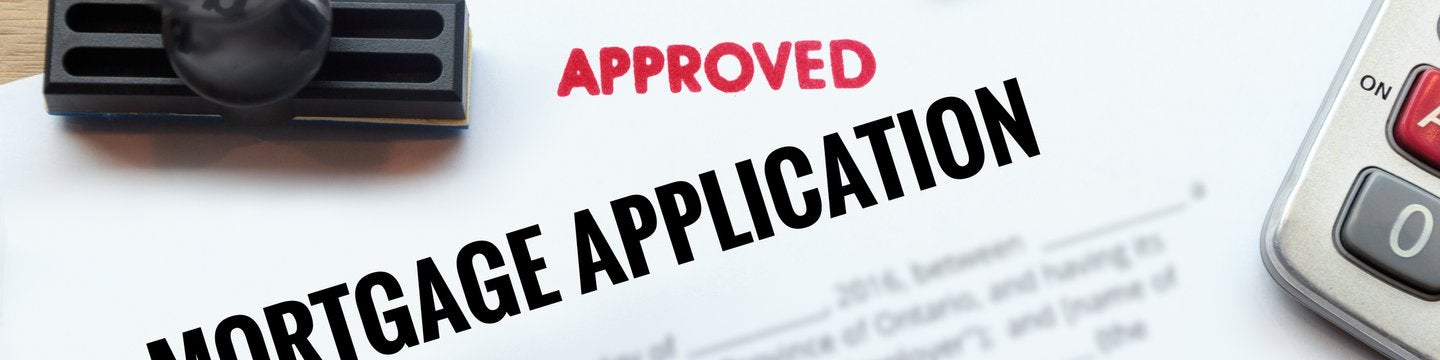 approved mortgage application paper