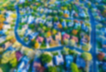 Aerial image of neighborhood