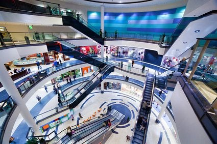 large shopping mall