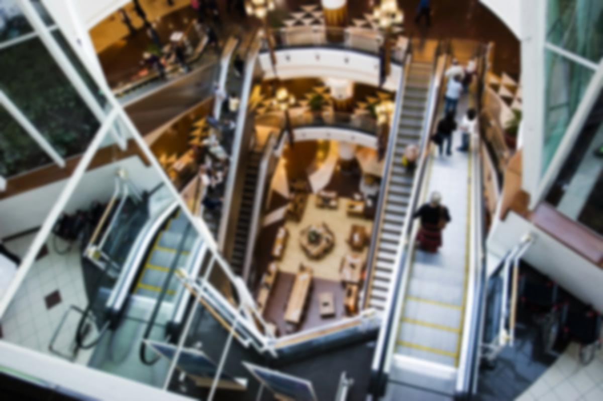 mall aerial
