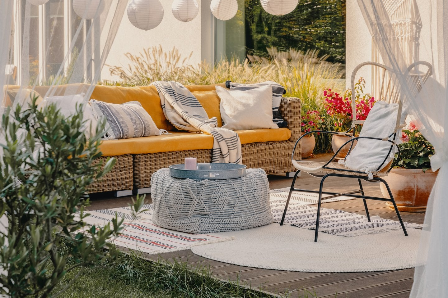 Outdoor Living Space Design turn your yard into an all-seasons living space | millionacres