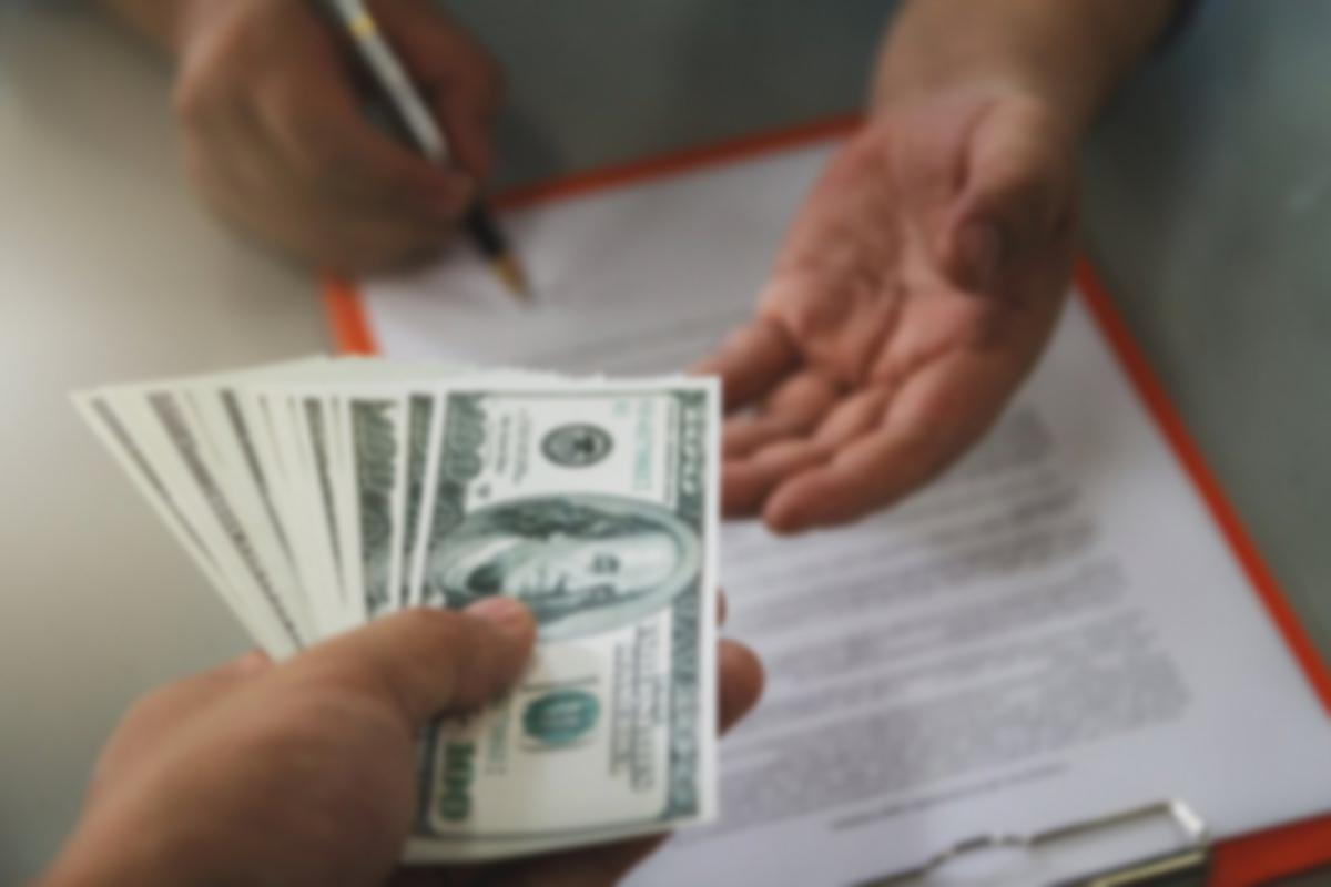 paying rent contract