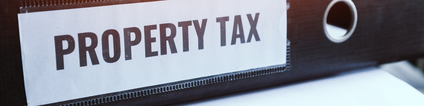 property tax labeled binder