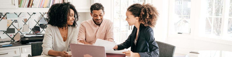 real estate financing meeting