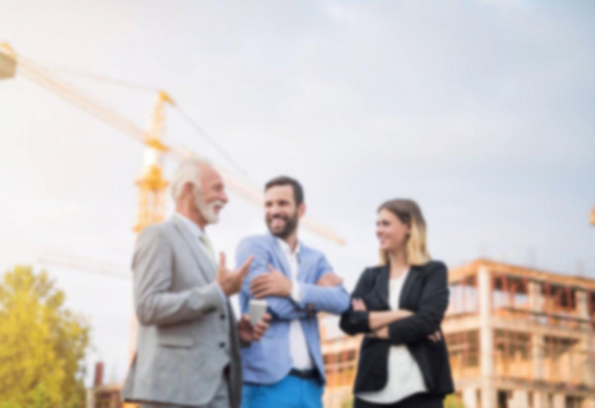 real_estate investors and crane