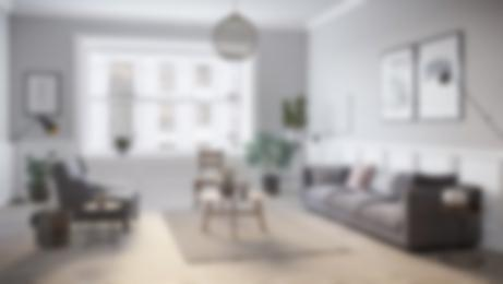 Living room in a rental apartment