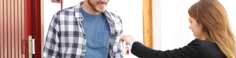 renter getting keys
