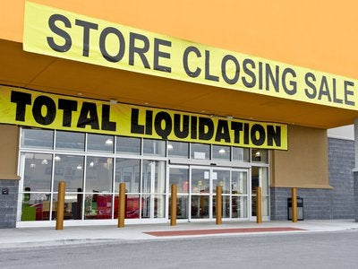 retail store closing.