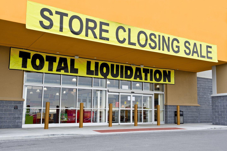 retail store closing.