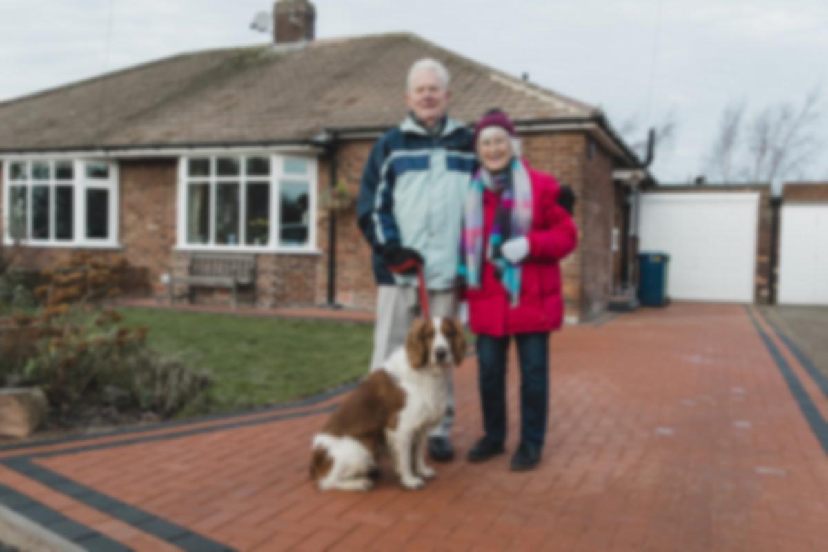 senior homeowners