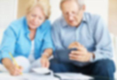 seniors with finances