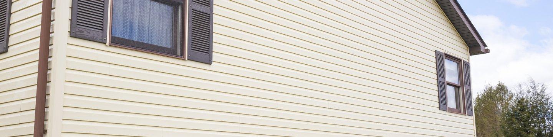 siding on a house