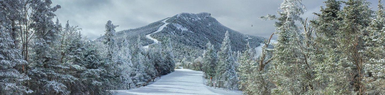 ski trail