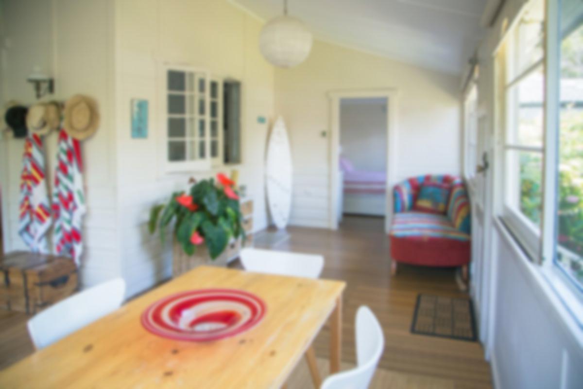 vacation home interior
