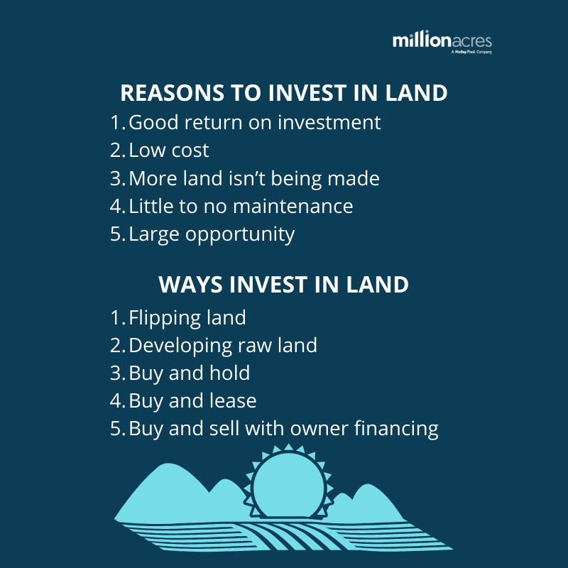 How To Invest In Land Millionacres