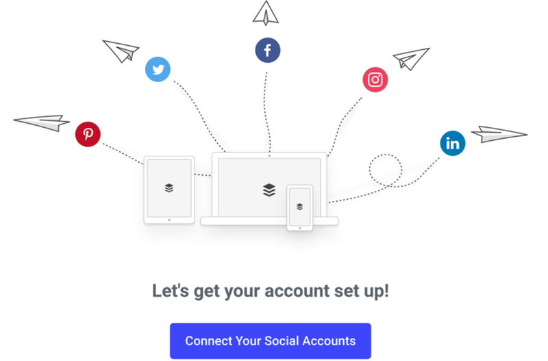 Buffer's tool to connect your social media accounts.