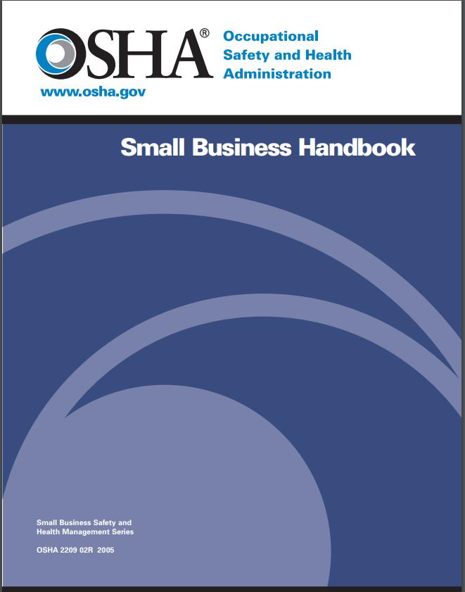 Screenshot of OSHA's Small Business Handbook.