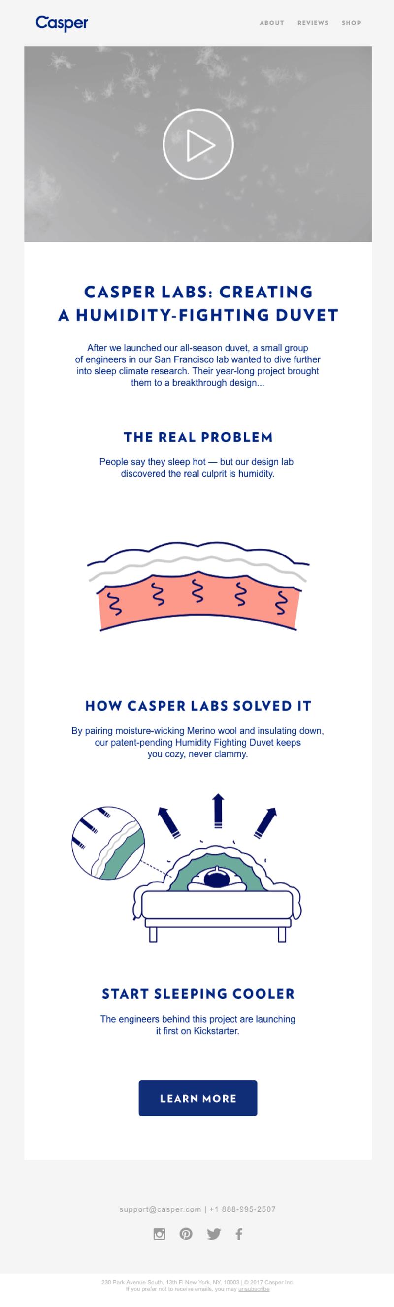 Casper Labs newsletter
