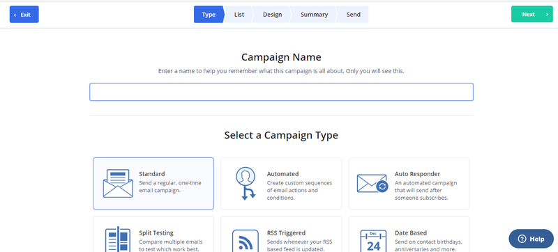ActiveCampaign Create List Example