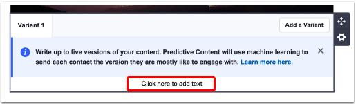 ActiveCampaign's Predictive Content