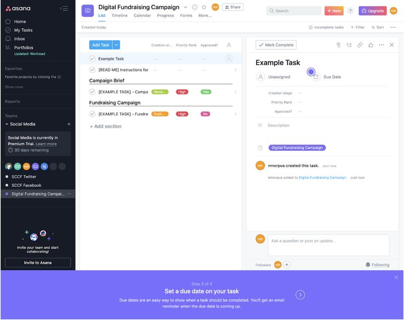 Asana Review - 3 - Task Creator