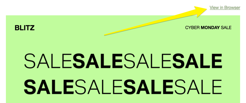 "The word ""sale"" displayed multiple times"