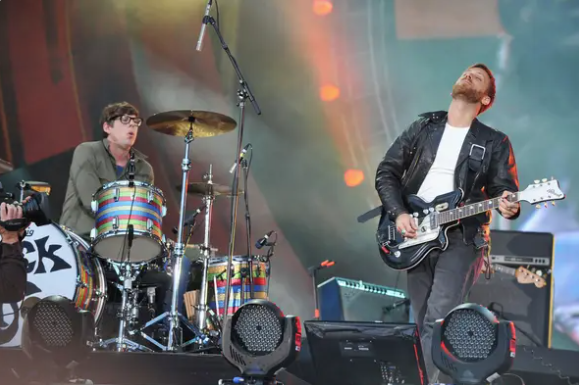 Picture of The Black Keys featured in the Buzzfeed article.