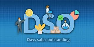 A graphic illustrating days sales outstanding.