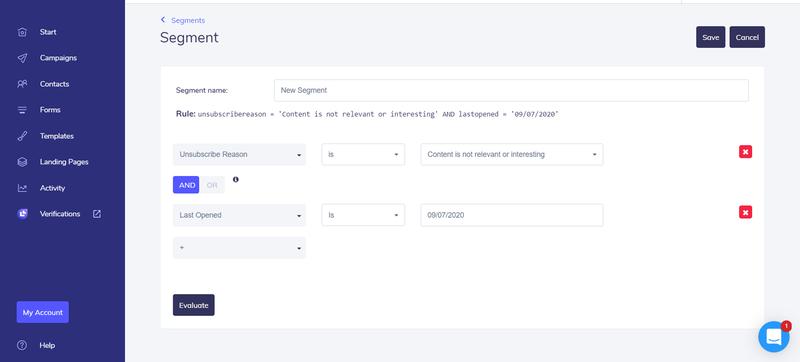 طريقة عرض وظائف بناء شرائح البريد الإلكتروني المرن.