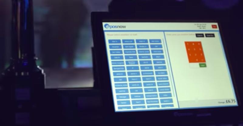Epos Now staff login screen