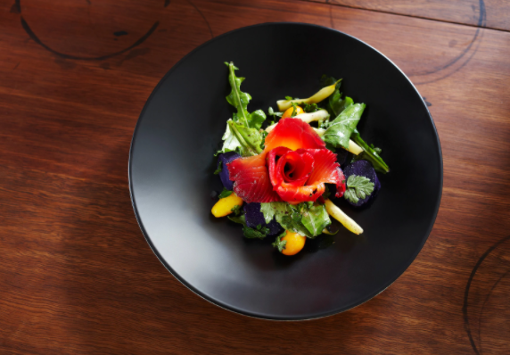 An image of Australia's cuisine featured in The Telegraph.