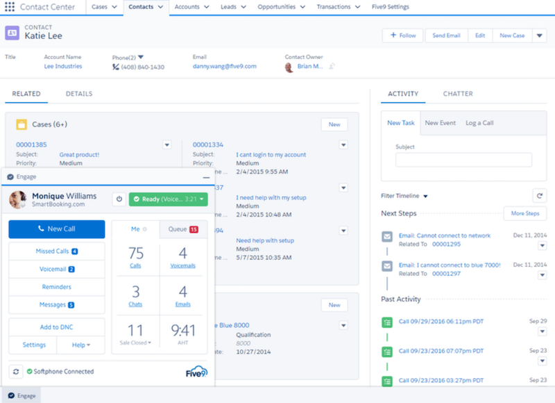 Salesforce customer service dashboard includes a confusing jumble of customer information that can be hard to decipher