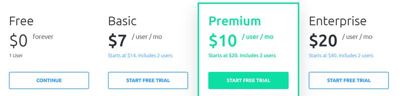 Hubstaff pricing tiers