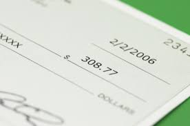 An image of a check for $308.77.