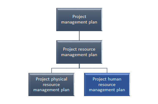 Project management plan table