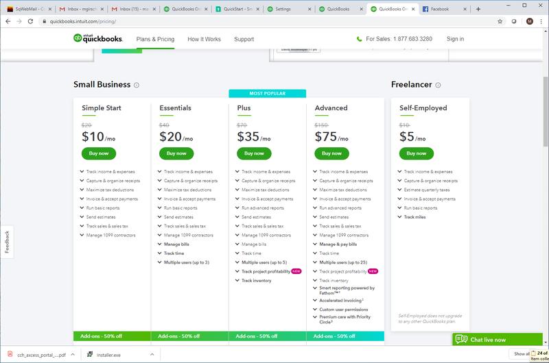 QuickBooks Online-5-Pricing