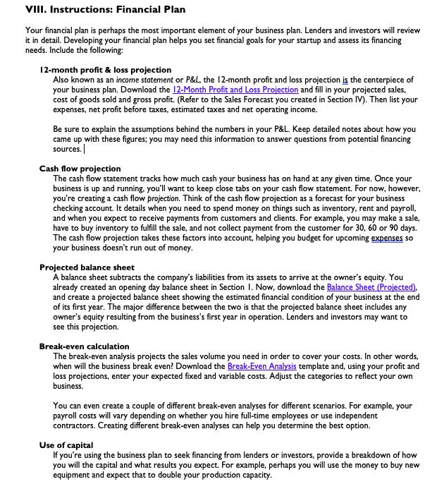 small business plan expert 7 7