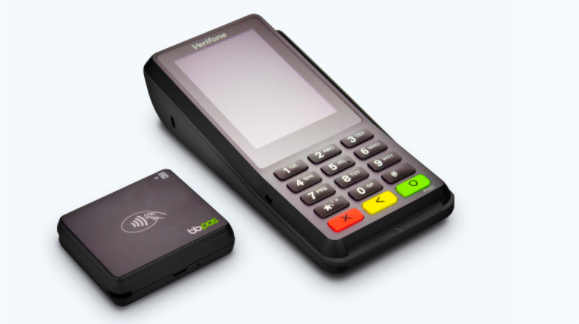 Screenshot of the Stripe Terminal for in-person payment processing.
