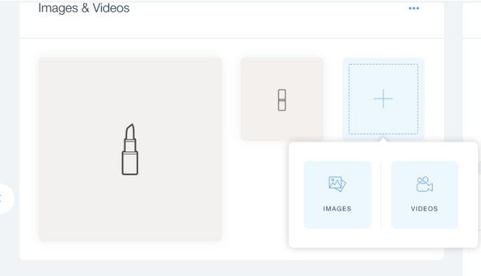 Wix's drag-and-drop page builder