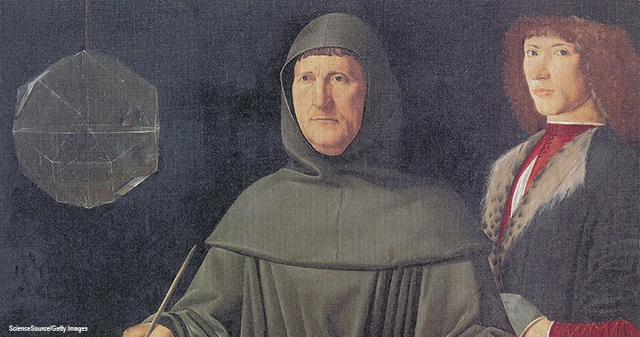 Portrait of Luca Pacioli, the Father of Accounting