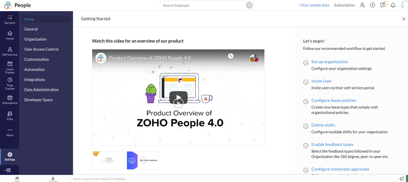 Zoho People Introduction Videos